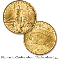 1914-S Saint-Gaudens $20 Gold Double Eagle