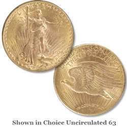 1926 Saint-Gaudens $20 Gold Double Eagle