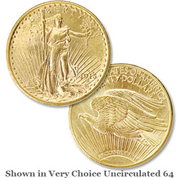 1915-S Saint-Gaudens $20 Gold Double Eagle