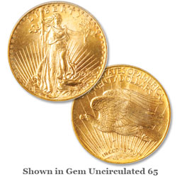 1913-D Saint-Gaudens Gold $20 Double Eagle