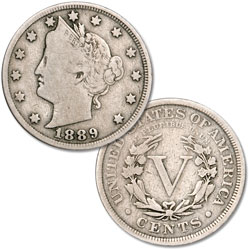 1889 Liberty Head Nickel