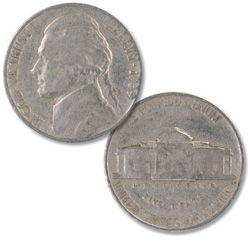 1939 Jefferson Nickel
