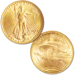 1922-S Gold $20 Saint-Gaudens Double Eagle