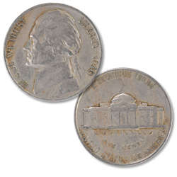 1940-S Jefferson Nickel
