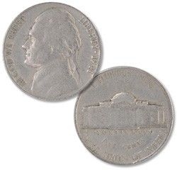 1941 Jefferson Nickel