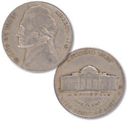 1941-D Jefferson Nickel