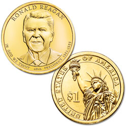 2016-D Ronald Reagan Presidential Dollar