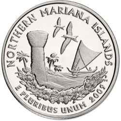 2009-S Northern Mariana Islands Territories Quarter