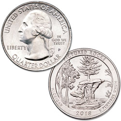 2018-P Pictured Rocks National Lakeshore Quarter