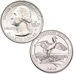 2018-D Cumberland Island National Seashore Quarter