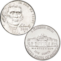 2018-D Jefferson Nickel