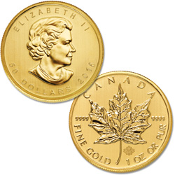 2018 Canada Gold 1 oz. $50 Maple Leaf
