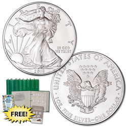 2019 $1 Silver American Eagle with Club Enrollment