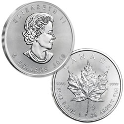 2019 Canada Silver $5 Maple Leaf