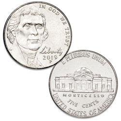 2019-P Jefferson Nickel