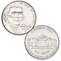 2019-D Jefferson Nickel