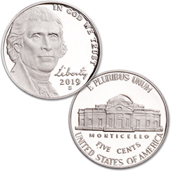 2019-S Jefferson Nickel