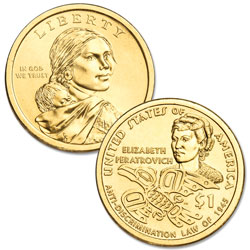2020-P Native American Dollar