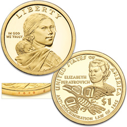 2020-S Native American Dollar