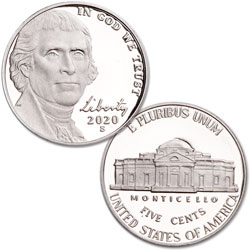 2020-S Jefferson Nickel