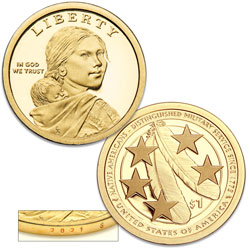 2021-S Native American Dollar