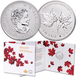 2018 Canada 1/2 oz. Silver $10 Maple Leaf