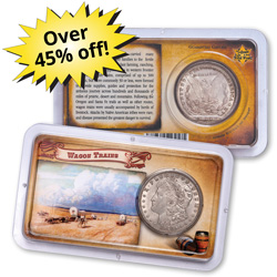 Morgan Dollar Tribute to the Wild West Club