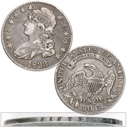 1807-1839 Capped Bust Half Dollar