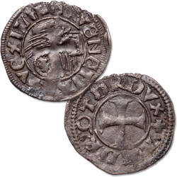 1368-1423 Italy Venice Billon Tornesello