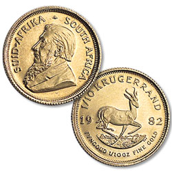 1980-Date South Africa Gold 1/10 oz Krugerrand