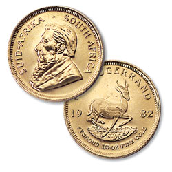 South Africa 1/4 oz Gold Krugerrand