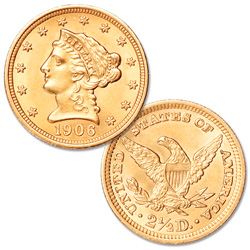 1879-1907 Gold $2.50 Liberty Head