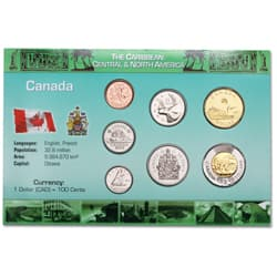 Canada Coin Set in Custom Holder