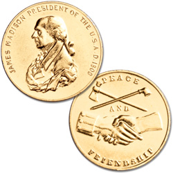 Gold-Plated Presidential Medal