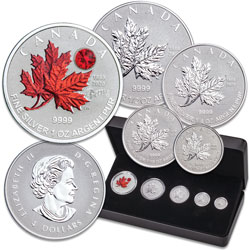 2020 Canada Silver Maple Leaf Fractional Set