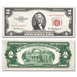1953 $2 Legal Tender Note