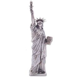 5 oz. Sterling Silver Lady Liberty Statue