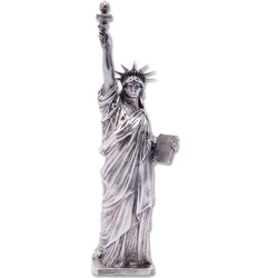 17 oz. Sterling Silver Lady Liberty Statue