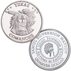 2018 Comanche Native American Quarter