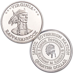 2019 Rappahannock Native American Quarter