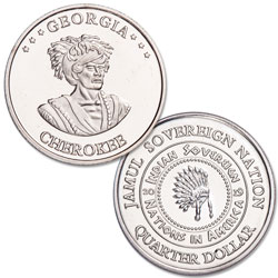 2019 Cherokee Native American Quarter