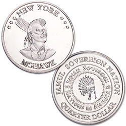2019 Mohawk Native American Quarter