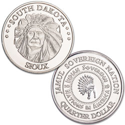 2019 Sioux Native American Quarter