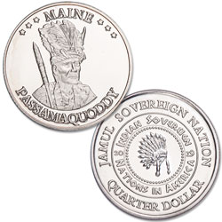2019 Passamaquoddy Native American Quarter