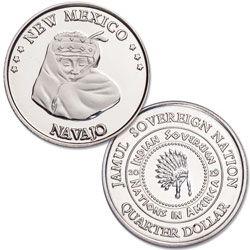 2019 Navajo Native American Quarter