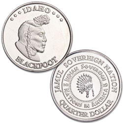 2019 Blackfoot Native American Quarter