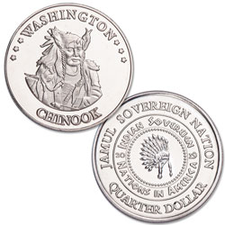 2019 Chinook Native American Quarter