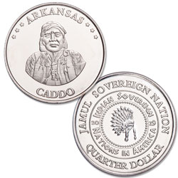 2019 Caddo Native American Quarter