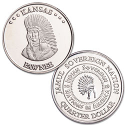 2019 Pawnee Native American Quarter