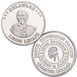 2019 Lenni Lenape Native American Quarter